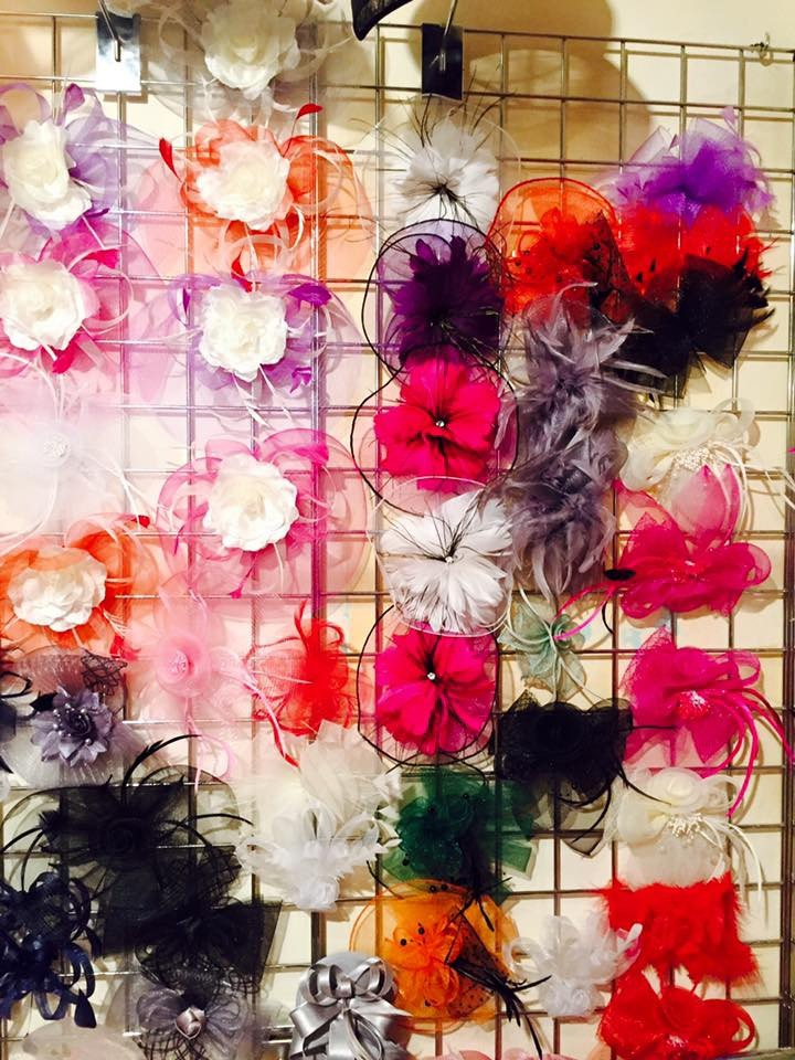 Fascinators at our store