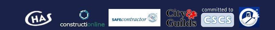 CHAS CSCS Constructionline logos