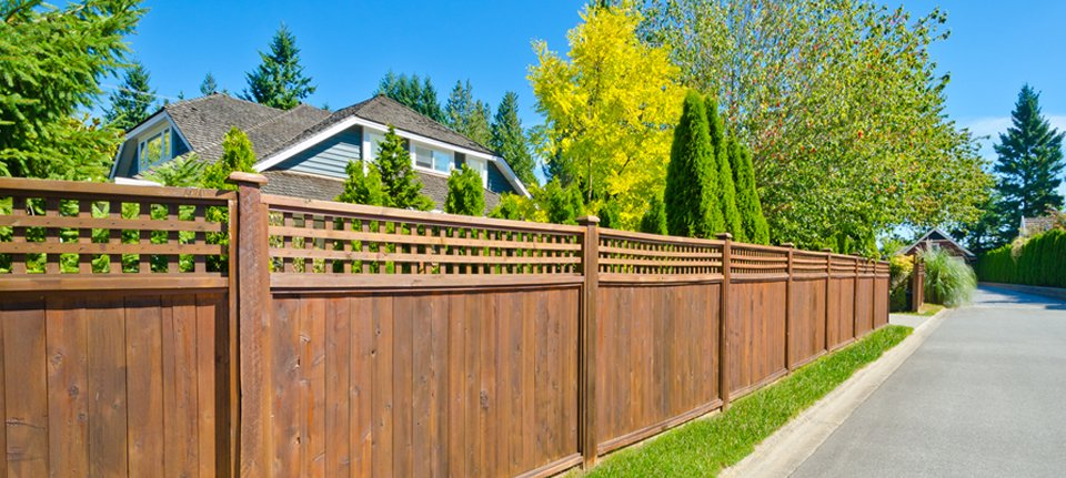 Garden fencing for your property