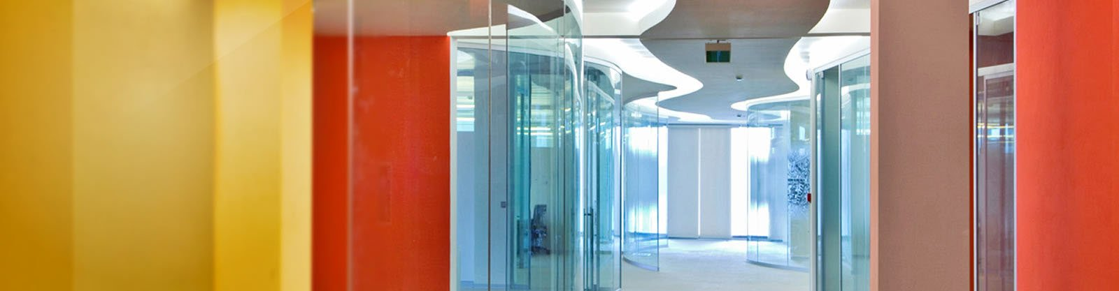 Curved Glass - Partitions