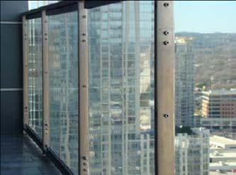 Use of Laminated Glass in Glass Railing Systems