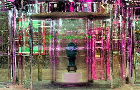 Curved Glass Revolving Door
