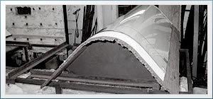 弯曲的玻璃 -  1950年