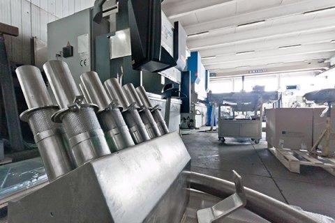 carpenterie meccaniche componentistica in acciaio