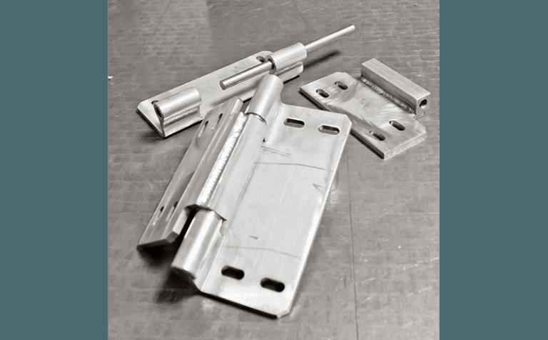 produzione elementi in acciaio