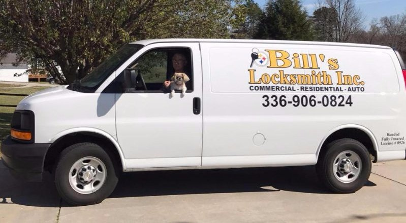Example of locksmith service in Thomasville, NC
