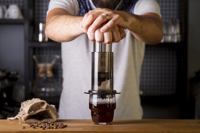 erogazione del Caffe americano- Blob Ristobar - Fossano (CN)