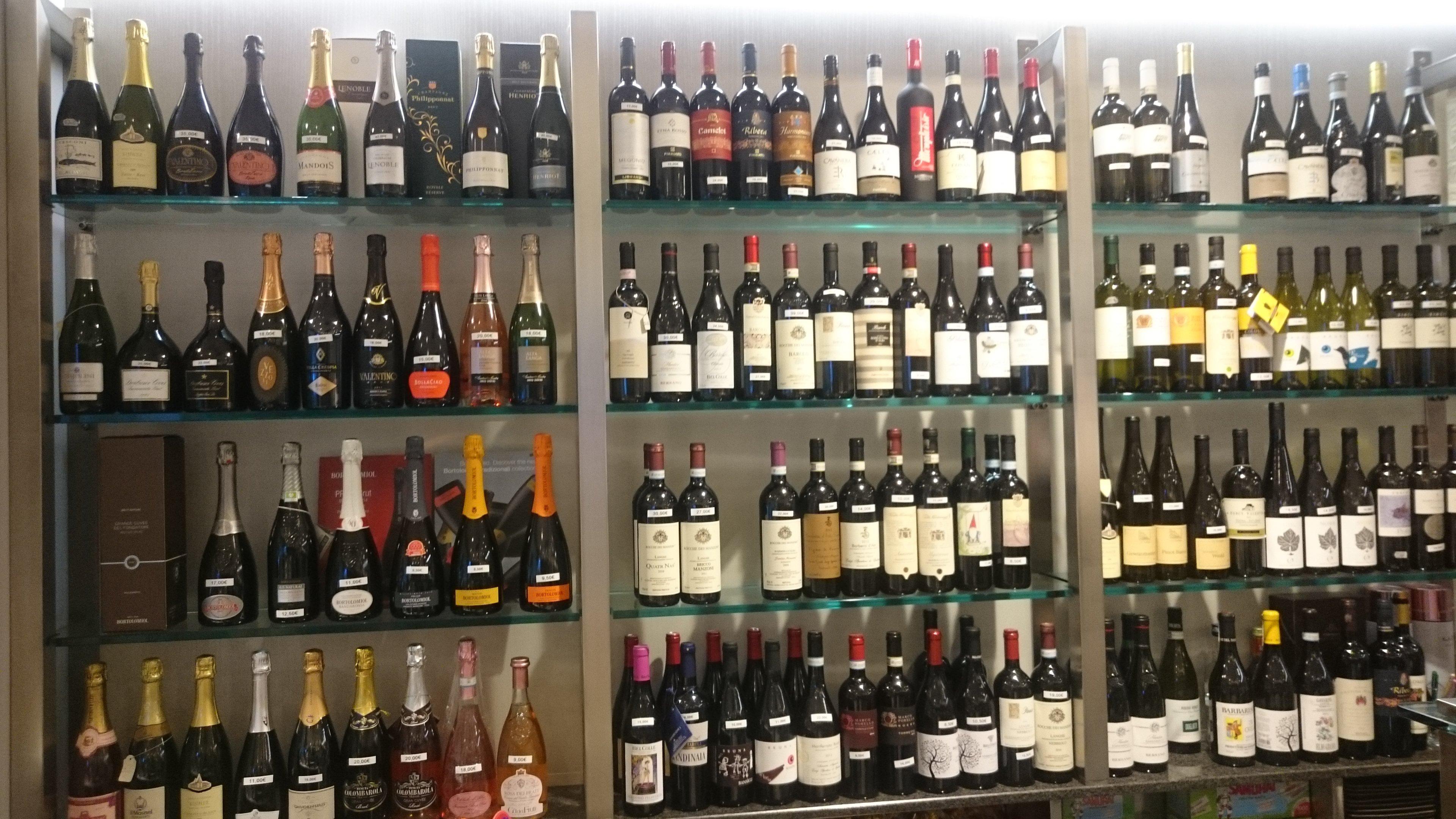 Selezione di vini da Blob