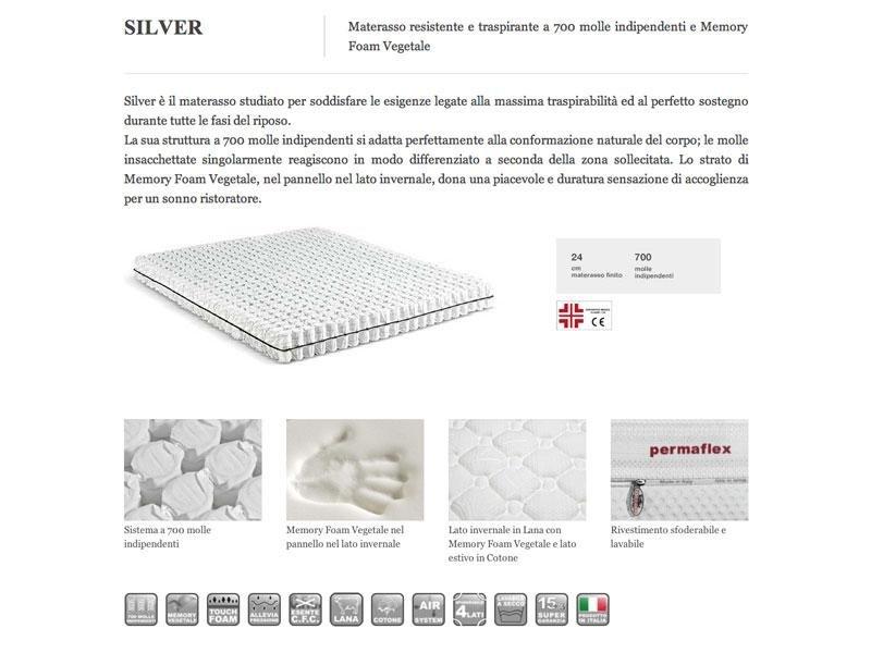 materasso silver
