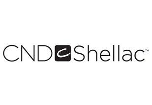 CND Shellac - logo