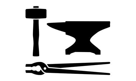 icona per ferro battuto e lavorazione del ferro