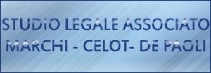 STUDIO LEGALE ASSOCIATO MARCHI - CELOT - DE PAOLI