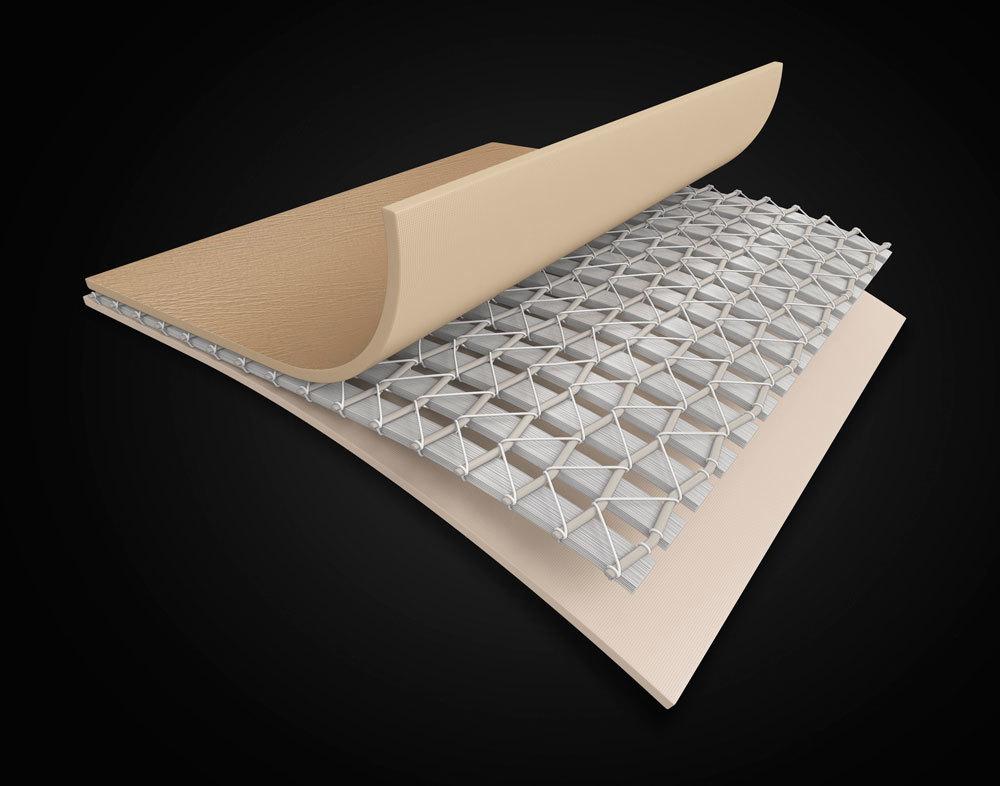 โครงสร้างอ่างน้ำวนจากุซซี่เคลื่อนที่ INTEX เทคโนโลยีภายพื้นผิวที่มีการเย็บถึง 3 ชั้น มีอายุการใช้งานที่ยาวนาน มีวัสดุอะไร ดีอย่างไร