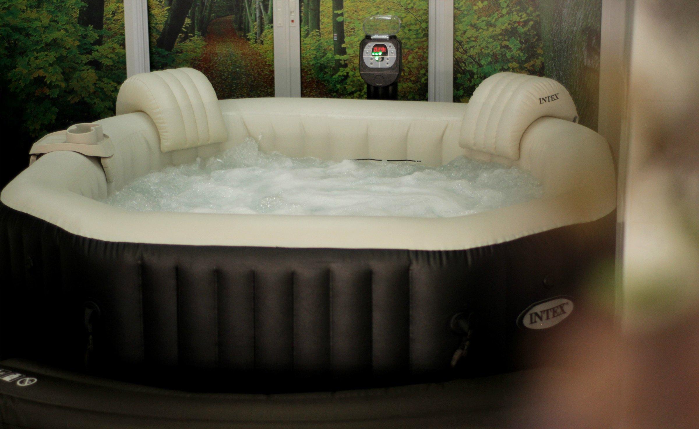 อ่างน้ำร้อน INTEX pure Spa อ่างน้ำวนจากุซซี่ อ่างสปา แช่น้ำร้อนเพื่อสุขภาพ บรรเทาโรค ผู้สูงอายุ ปวดเมื่อยกล้ามเนื้อ เอ็น กระดูก คนแก่ ผู้สูงวัย ผ่อนคลาย Hot tub