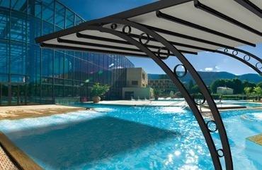 copertura solare per giardino o piscina
