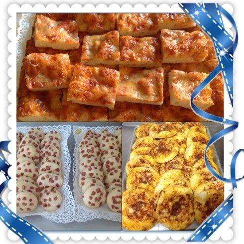 pizzette e focaccine salate