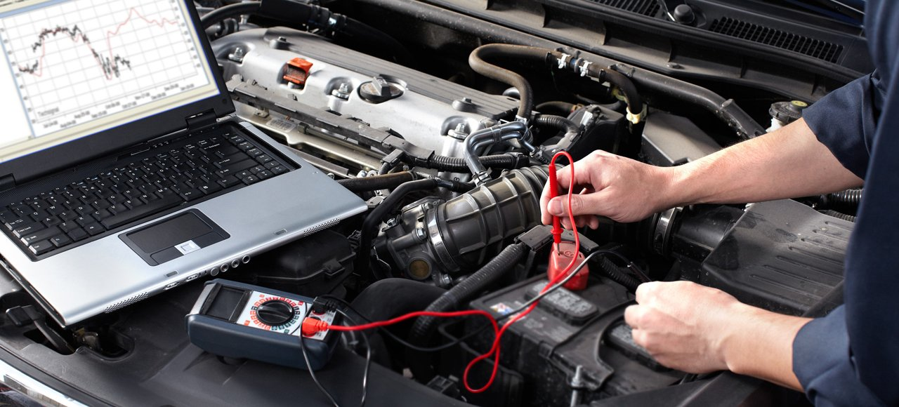car engine testing