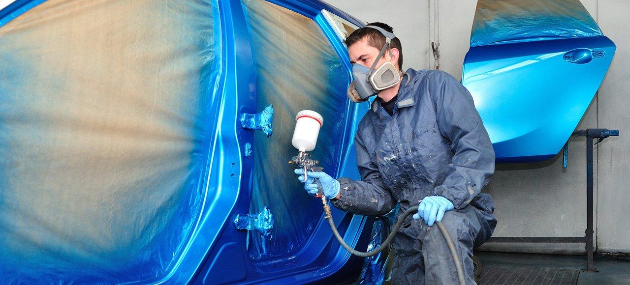 car body spray painting