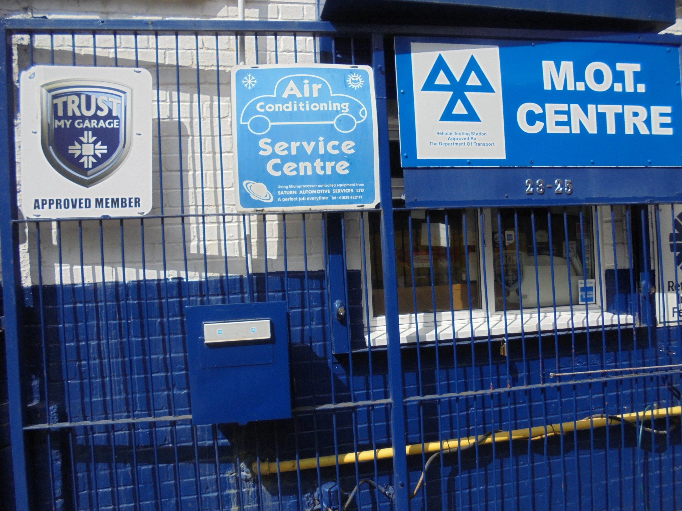MOT centre