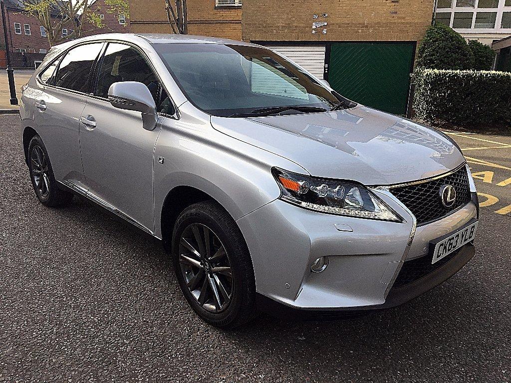 silver Lexus