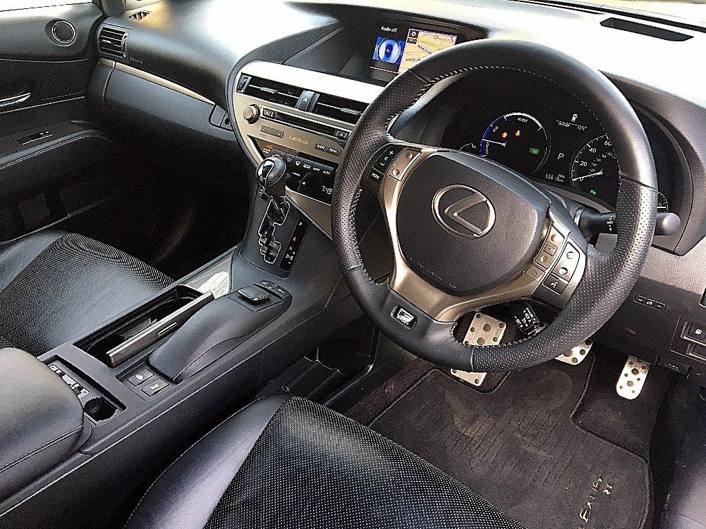 Lexus car steering