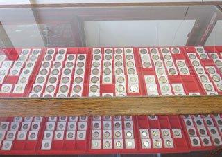 coin collecting supplies Greenville, SC
