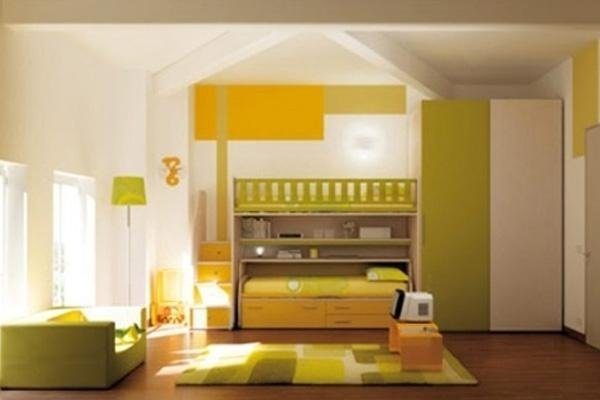 Camerette torino riva arredamenti - Camera da letto verde mela ...