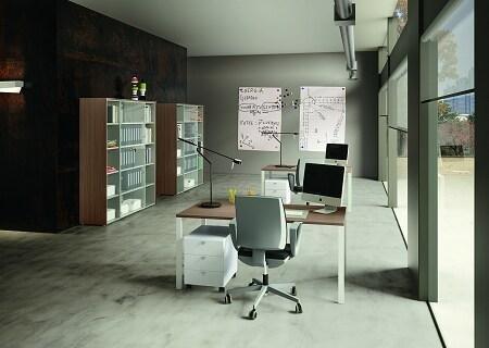 ufficio con veranda
