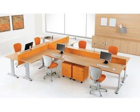 Arredo ufficio torino riva arredamenti for Sedie arancioni