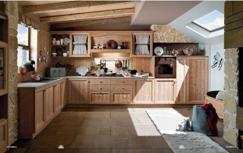 cucina stile montagna