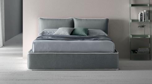 Completo letto grigio