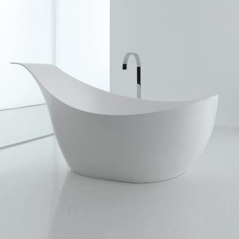 Vasca design bianca