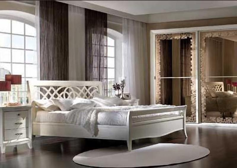 Camera bianco anticato