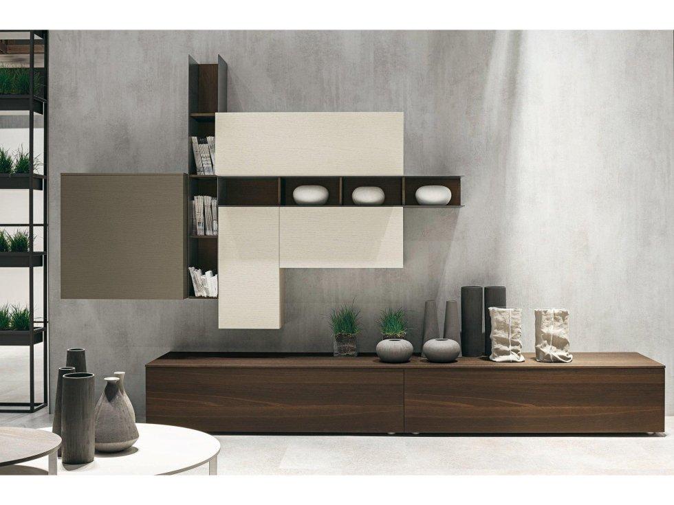 mobili soggiorno - torino - riva arredamenti - Soggiorno Moderno Tomasella 2