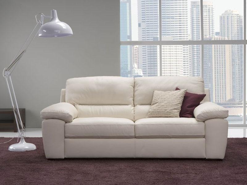 divano bianco chic