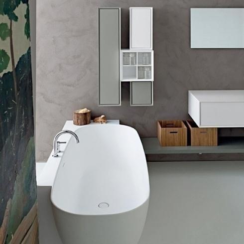 Lavandino ovale bagno