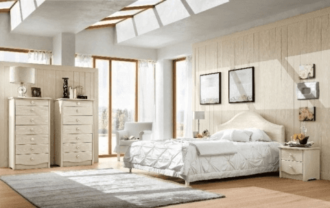 Camera legno chiaro