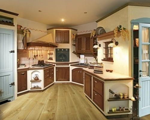 Cucina rustica
