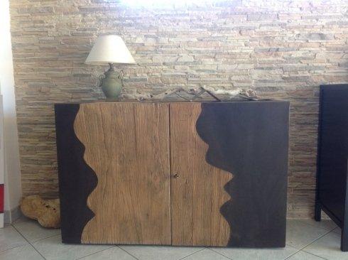 mobile basso in legno massello