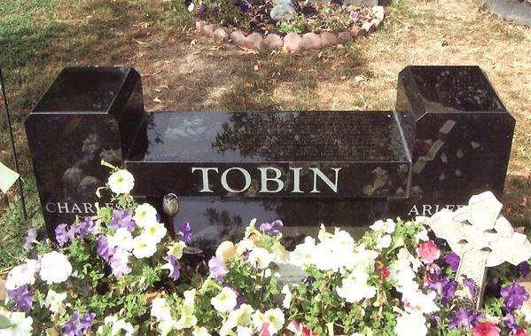 Tobin Jet black bench
