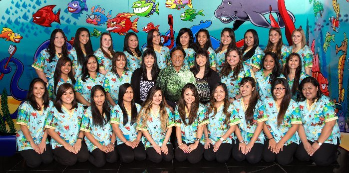Smiling doctors at Uchida DDS MS Honolulu, HI