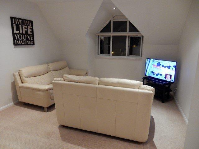 sofa and TV unit