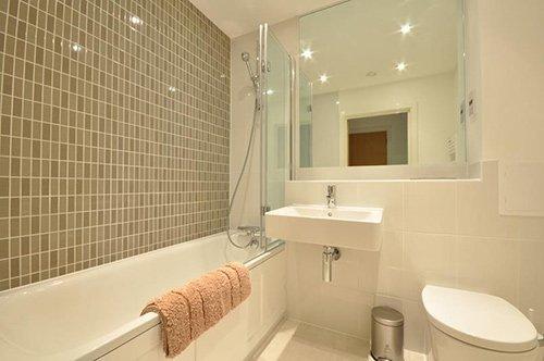Luxury bathroom view