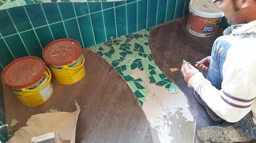rifacimento di un bagno di una casa