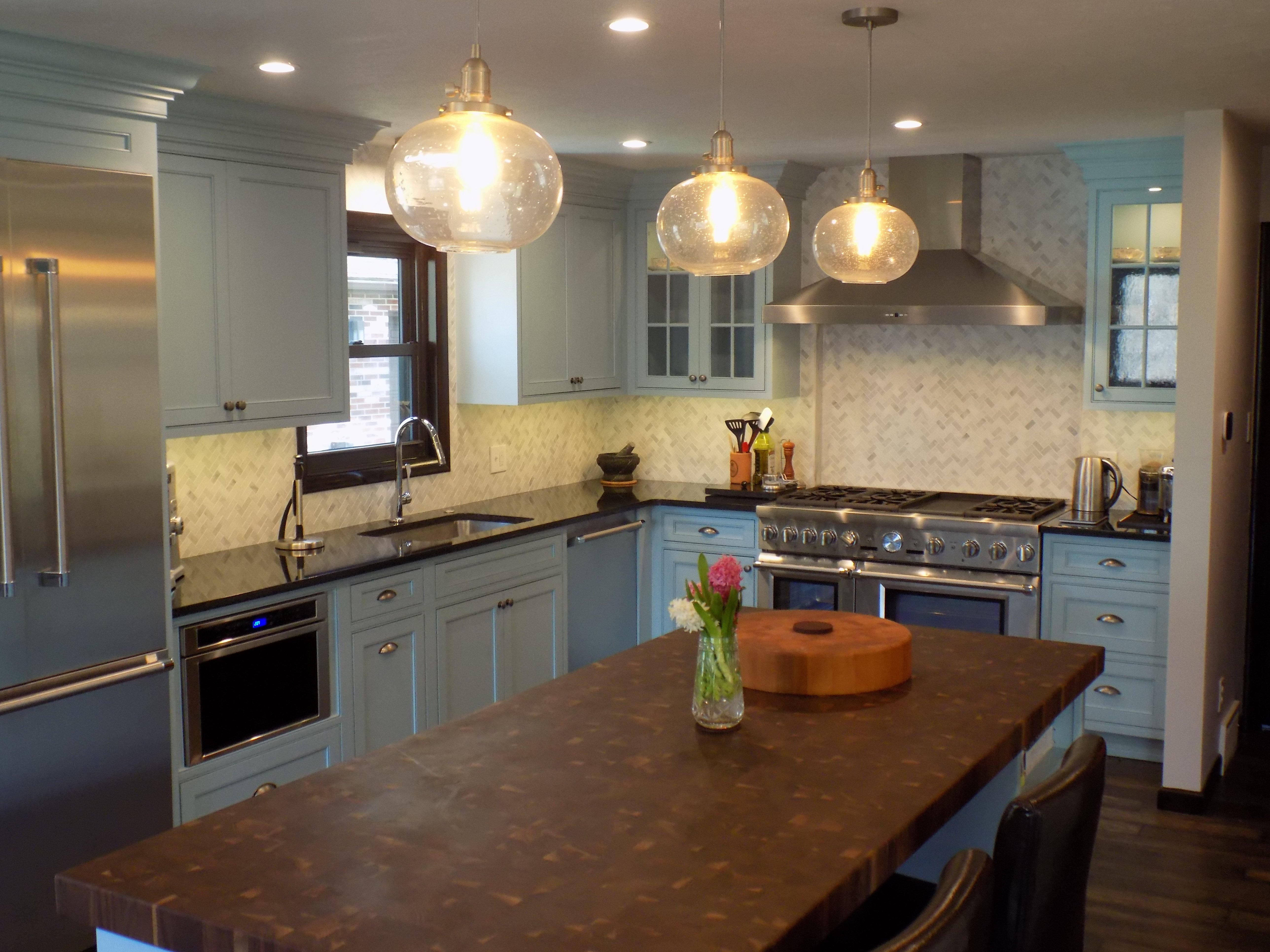 transitional kitchen remodel in irvine, pa