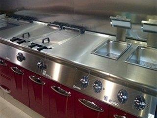 open-plan cooktop