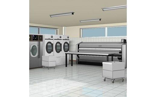 fornitura macchinari per lavanderie