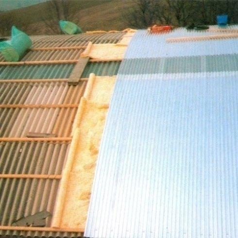 COTTO TUSCANIA - Serramazzoni (MO) Copertura con interposto isolamento termico