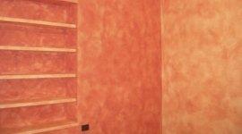 pittura spugnata, intonaci su condomini, facciate