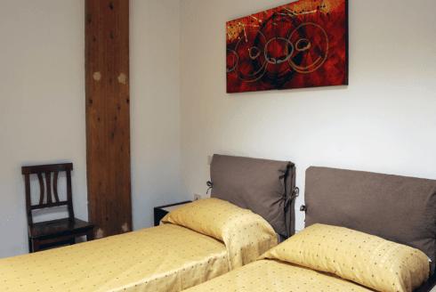 camera a due posti letto